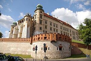 The Wawel Castle in Kraków