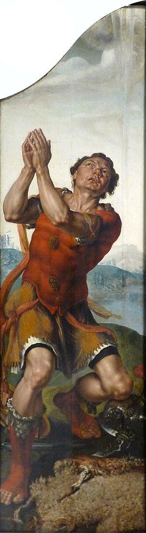 Gédéon (vers 1550), huiles sur bois de Martin ...