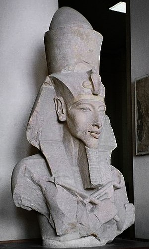 Akhenaten, Pharaoh of Egypt. Egyptian Museum, ...