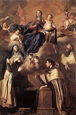 Pietro Novelli Our Lady of Carmel and Saints.JPG