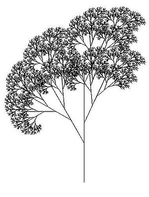 Tree recreated in LOGO programming language us...