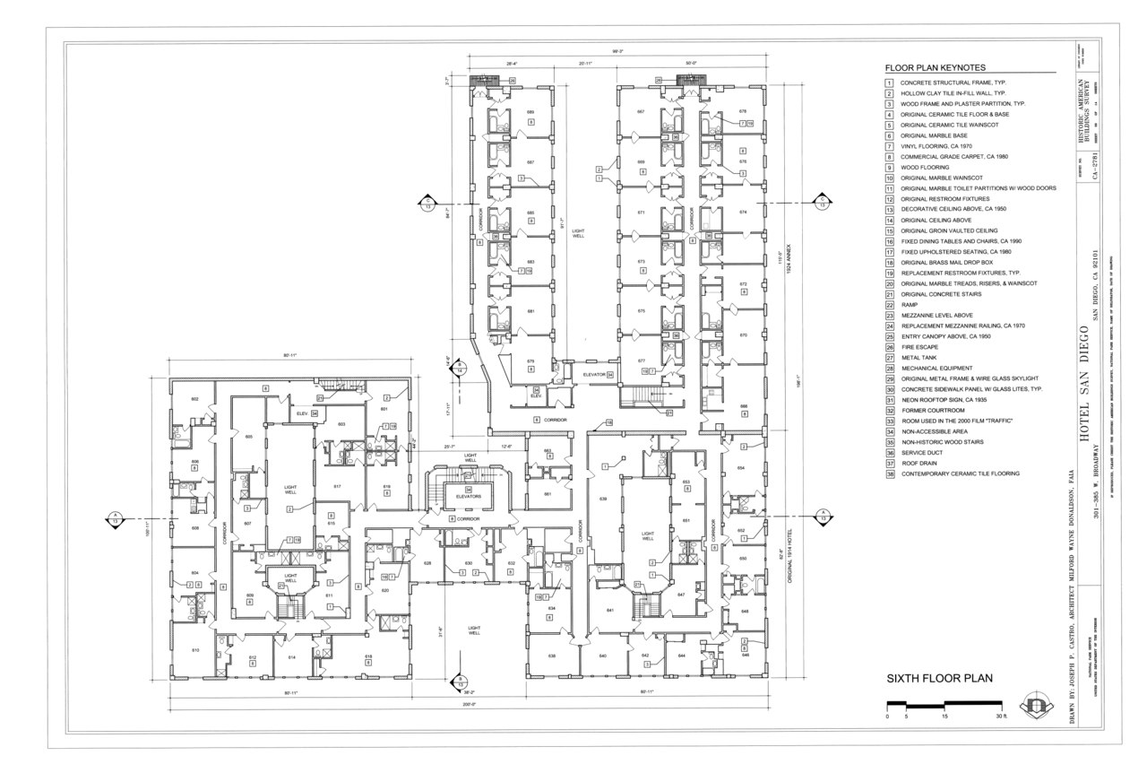 File Sixth Floor Plan
