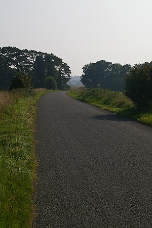 English: Smugglers' Road This road is a highwa...
