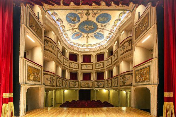 Teatro della Concordia (Monte Castello di Vibio, Italy ...