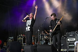 Thousand Foot Krutch performing at Wonder Jam ...
