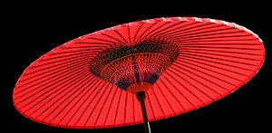 Karakasa (parasol) in Japan
