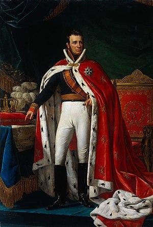 William I, King of the Netherlands.