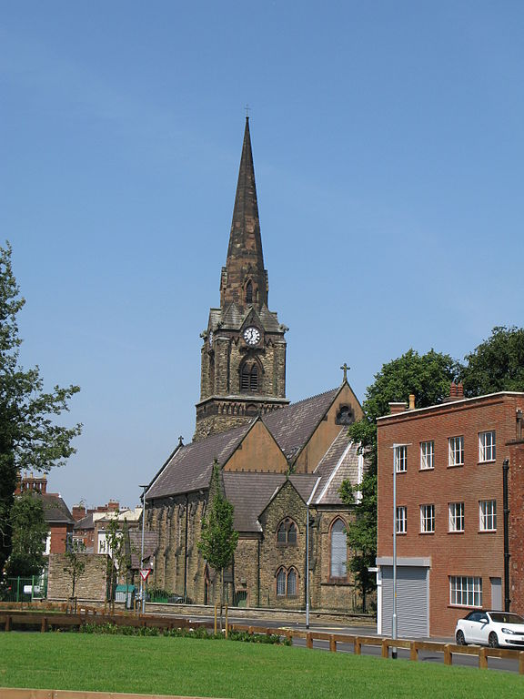 Wolverhampton former church of St Mark