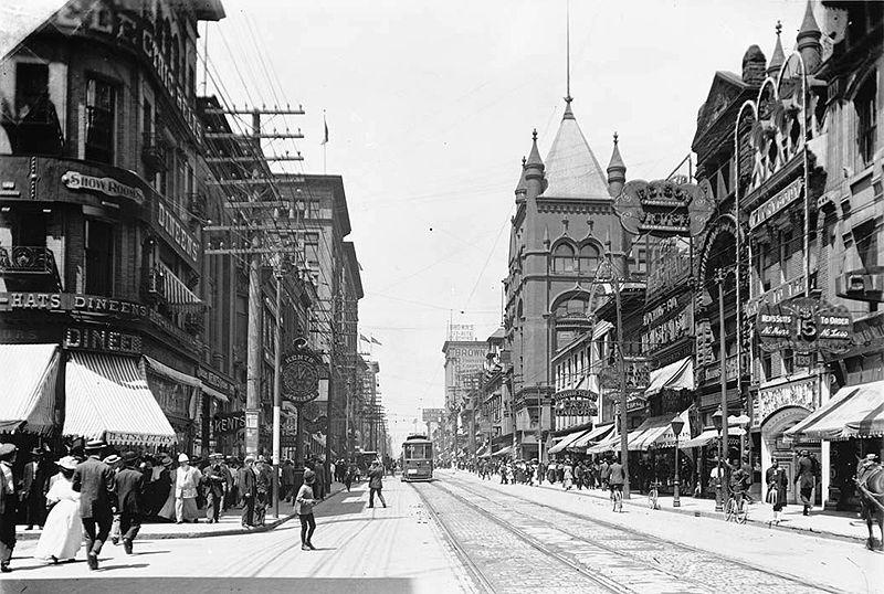 Yonge Street di tahun 1903