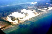 Deepwater Horizon Oil Spill Slicks Surround The Chandeleur Islands In This Aerial Photo