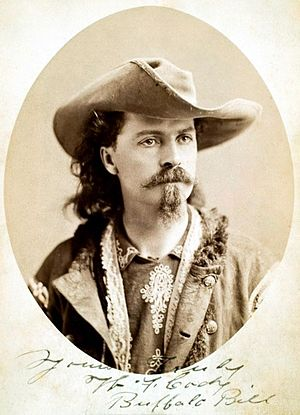 William Cody, aka Buffalo Bill