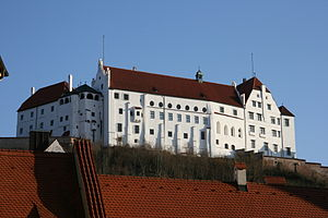English: Burg Trausnitz in Landshut, north sid...
