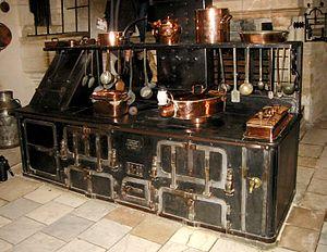 Chenonceau kitchen stove