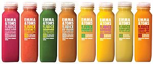Emma & Tom's Whole Fruit Smoothie Range