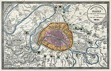 Fortifications De Paris Aux XIXe Et XXe Sicles Wikipdia