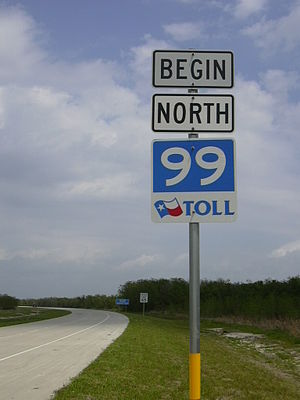 Sign marking the beginning of segment I-2 of T...
