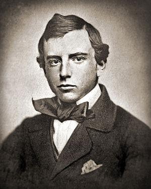 Harvard graduation photo of Henry Brooks Adams...