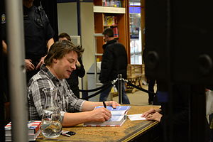 English: Jamie Oliver in Toronto