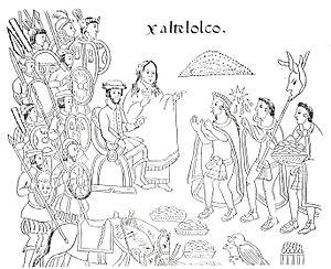 A 16th century manuscript illustrating La Mali...