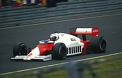 Alain Prost en el MP4-2B, 1984