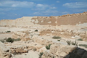 The Osiris temple at Taposiris Magna, Ptolemai...