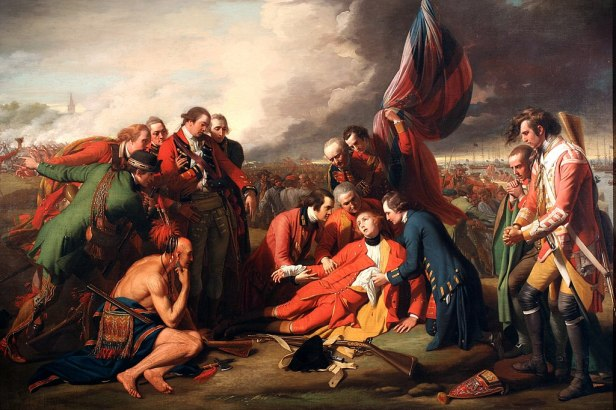 The Death of General Wolfe B.West,1770