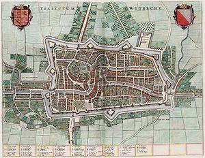 Map of Utrecht.