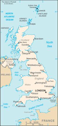 wilayah Inggris Raya