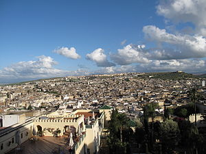 English: A view of the Medina from the Jamai P...