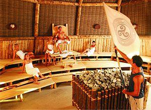 Deutsch: Keltenthron Sauna