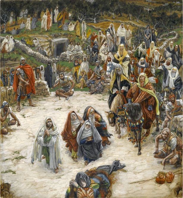 """Crucifixion, seen from the Cross"" by James Tissot"