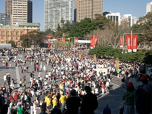 Sydney City to Surf start 2005