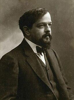Claude Debussy ca 1908, foto av Félix Nadar