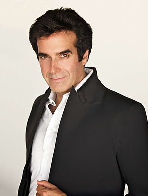A picture of illusionist David Copperfield.