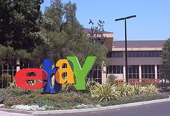 The headquarters of eBay in San Jose, Californ...