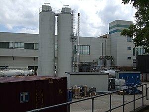 English: GSK Factory Glaxo Smithkline manufact...