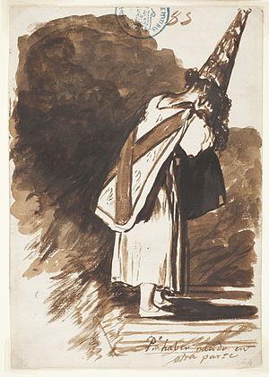 Inquisition condemned (Francisco de Goya).