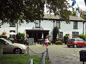 English: Hesketh Arms Pub, Botanic Road, Churc...