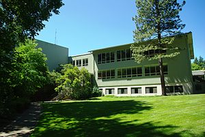 Student center at Lewis & Clark College in Por...