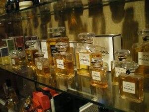 Español: Interior del Museo zona de perfumeria...