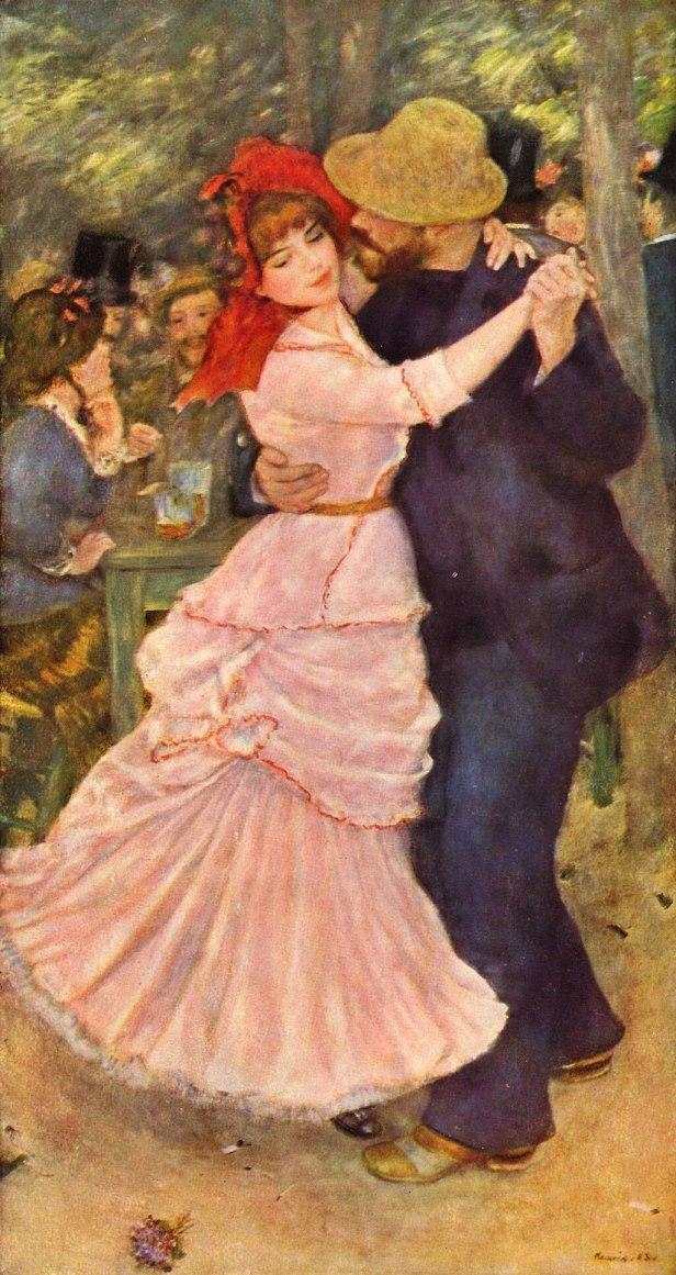Pierre-Auguste Renoir - Suzanne Valadon - Dance at Bougival