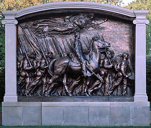 Photograph of Robert Gould Shaw Memorial, by A...