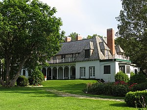 The Stephen Leacock House located at 50 Museum...