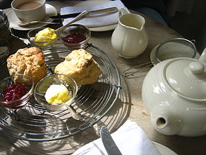 The custom of afternoon tea and scones has its...