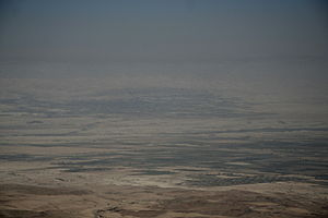 view from Mount Nebo (Jordan) - what Moses has...