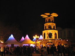 Weihnachtsmarkt Schloss Charlottenburg 2