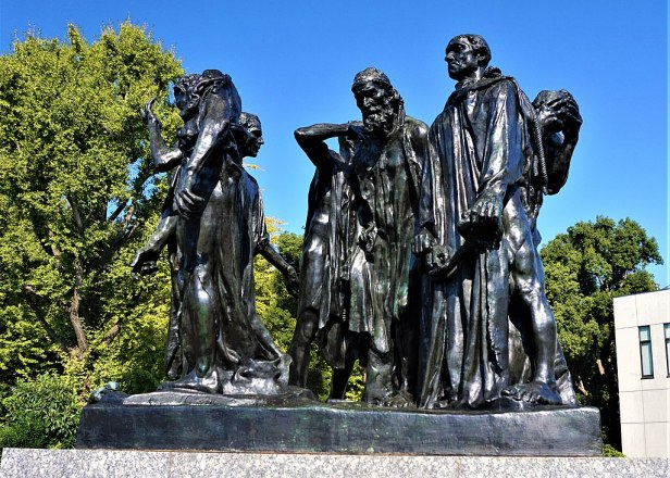 """The Burghers of Calais"" by Auguste Rodin - Joy of Museums - National Museum of Western Art, Tokyo"