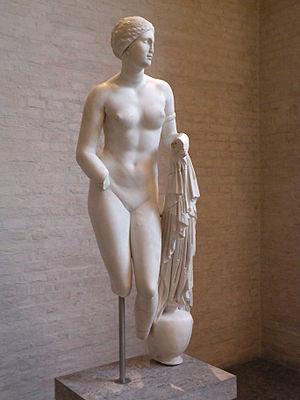 Aphrodite of Cnidus.Munich.