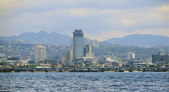 English: Skyline of Cebu City