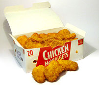Photo of a 20-piece box of McDonald's Chicken ...